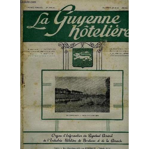 La Guyenne Hoteliere N 25 Et 26 De L Essence Au Sucre L Armorial De