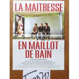 La Maitresse En Maillot De Bain De Ly�ce Boukhitine - Affiche Originale De Cin�ma 40 X 60 Cm