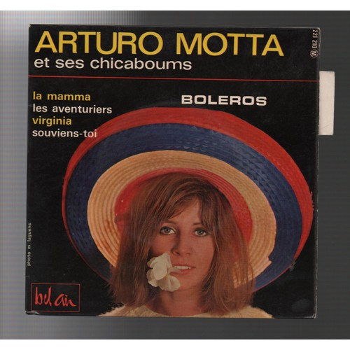 Arturo Motta Et Ses Chicaboums - Quatre Boléros