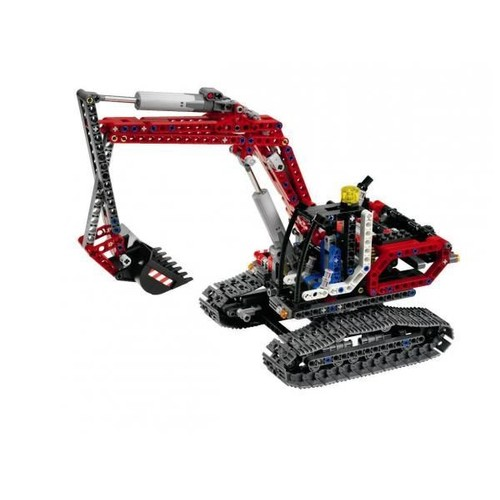 lego technic la pelleteuse neuf et d 39 occasion sur priceminister. Black Bedroom Furniture Sets. Home Design Ideas