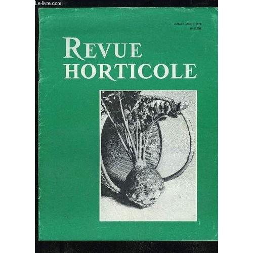 la revue horticole 1972 n 2308 chronique horticole la culture du c leri rave par c. Black Bedroom Furniture Sets. Home Design Ideas