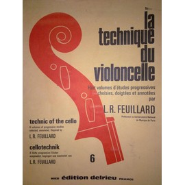 La Technique Du Violoncelle-�tudes-Volume 6