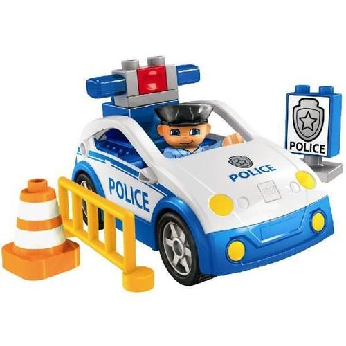 lego 4963 duplo ville voiture de police achat et vente. Black Bedroom Furniture Sets. Home Design Ideas
