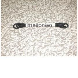 Lacet Rond Coton Noir 50 Cm Meltonian