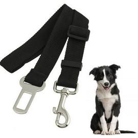 laisse de voiture ceinture de securite reglable pour chat et chien en voyage. Black Bedroom Furniture Sets. Home Design Ideas