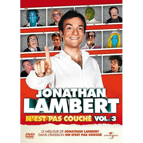 Jonathan lambert n 39 est pas couch vol 3 dvd zone 2 - Collectif metisse on n est pas couche ...