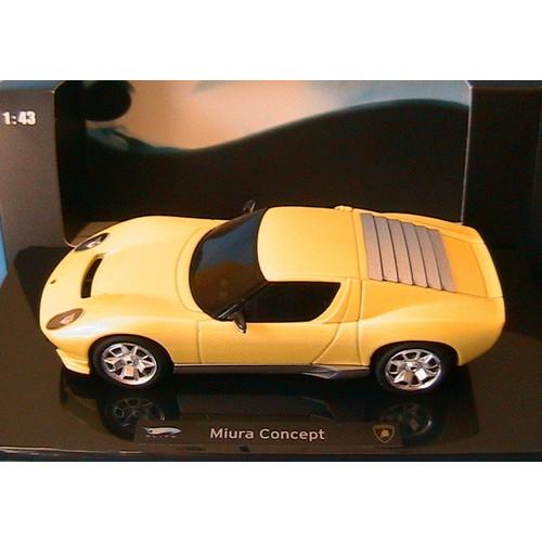 Lamborghini Miura Concept 2007 Yellow Hotwheels Elite P4882 1 43