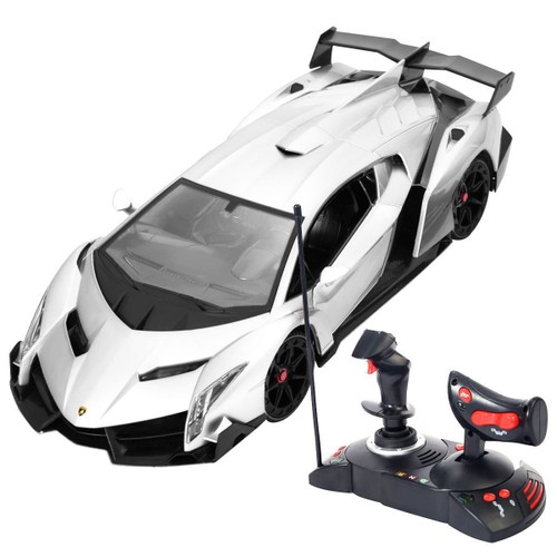 lamborghini veneno 1 14 r c radio rechargeable t l commande voiture mod le neuf. Black Bedroom Furniture Sets. Home Design Ideas