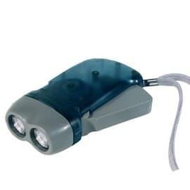 lampe de poche lsi 2 leds dynamo gachette pas cher rakuten. Black Bedroom Furniture Sets. Home Design Ideas