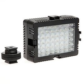 Lampe Torche 48 LED pour Cam�ra Vid�o Cam�scope DV et Appareil Photo DSLR