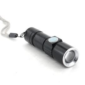 Lampe Torche Spotlight Mini Portable 5w 1200lm Zoomable Lampe De