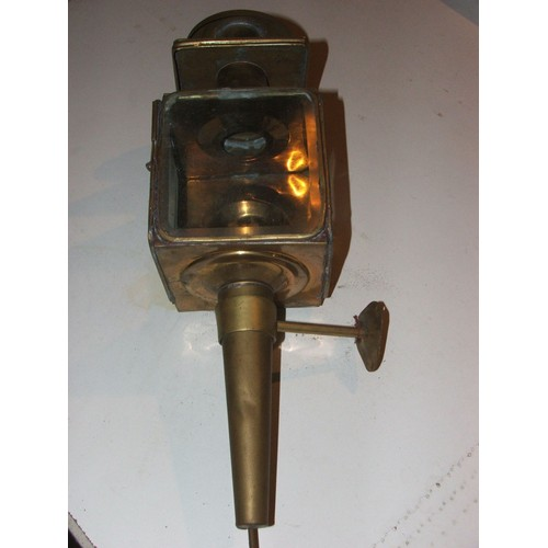 lanterne fiacre electrifiee en laiton ht 47 cmsx larg 14 cms. Black Bedroom Furniture Sets. Home Design Ideas