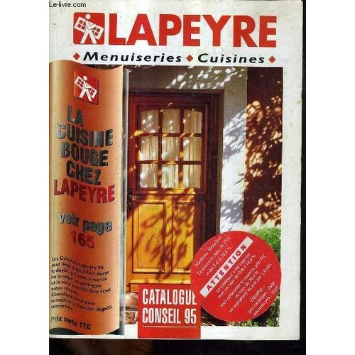 lapeyre menuiseries cuisines catalogue conseil 95 de collectif. Black Bedroom Furniture Sets. Home Design Ideas