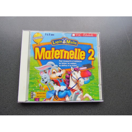 Lapin malin maternelle 2 achat vente de jeu pc rakuten - Lapin malin gratuit ...