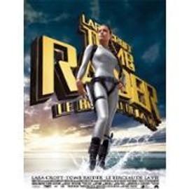 Lara Croft Tomb Raider Le Berceau De La Vie - Angelina Jolie - Jan De Bont - Affiche De Cin�ma Pli�e 160x60 Cm
