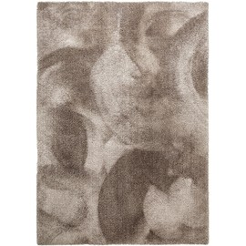 lavable tapis shaggy poils longs lahty taupe 140x200 cm tapis doux pour salon - Tapis Shaggy