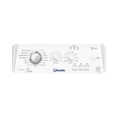 Vedette vlt5210w machine laver pas cher achat vente - Lave linge top vedette vt602b ...