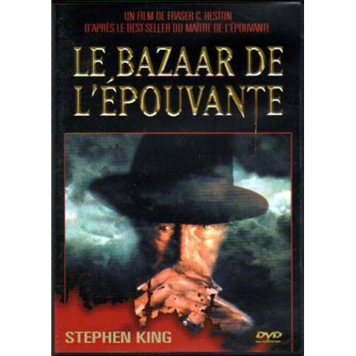 le bazaar de l 39 pouvante stephen king dvd zone 2. Black Bedroom Furniture Sets. Home Design Ideas