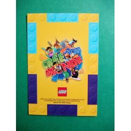 Le Bonhomme En Pain D Epice 107 Carte Lego Auchan Neuf Et D Occasion