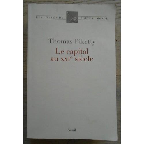 le capital au xxie sicle