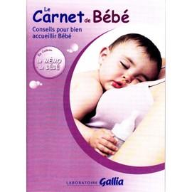 Le Carnet De Bebe Conseil Pour Bien Accueillir Bebe Memo Inclus