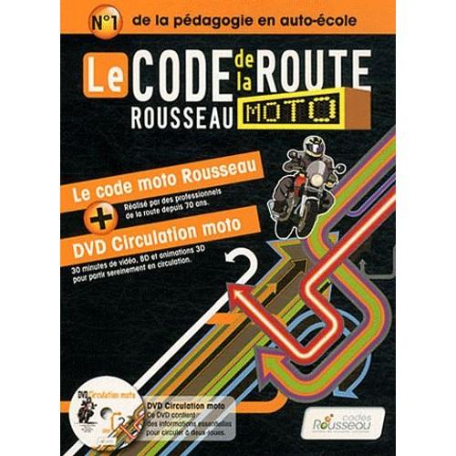 le code de la route rousseau moto 1dvd de codes rousseau