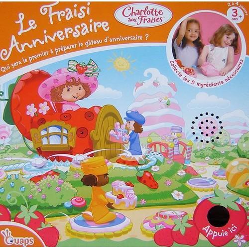 le fraisi d 39 anniversaire de charlotte aux fraises achat et vente. Black Bedroom Furniture Sets. Home Design Ideas