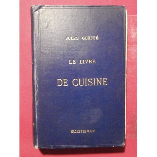 Le livre de cuisine de jules gouff achat vente neuf - Livre de cuisine michalak ...