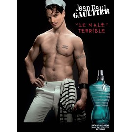 Le male terrible de jean paul gaultier publicit de - Jean paul gaultier le male prix ...