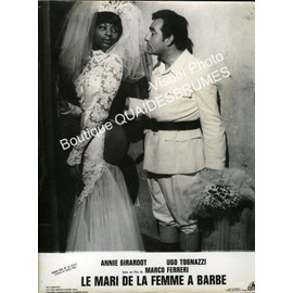 Mari De La Femme A Barbe La Donna Scimmia Photo Cartonnee D