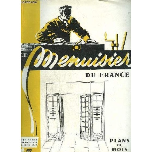 le menuisier de france n 133 fevrier 1959 plans du mois l 39 clairage et le mobilier porte. Black Bedroom Furniture Sets. Home Design Ideas