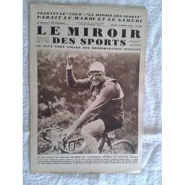 Le miroir des sports n 549 du mardi 15 juillet 1930 for Le miroir des sports