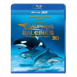 Le Monde Des Dauphins Et Des Baleines, Nomades Des Mers 3d de Jean-Jacques Mantello
