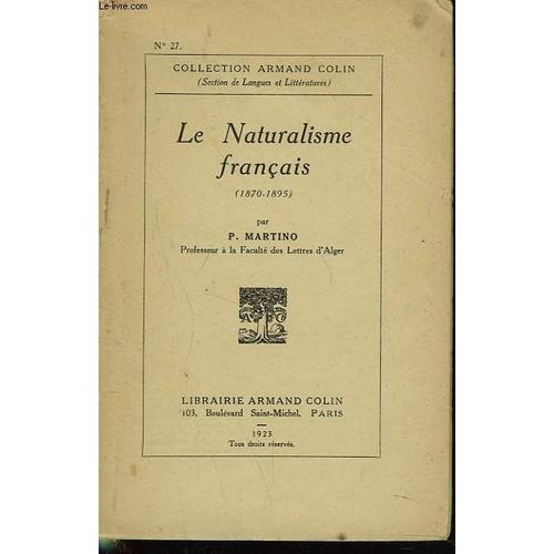 Le naturalisme 2nde Français