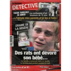 le-nouveau-detective-n-1405-drame-de-la-misere-des-rats-ont-devore-son-bebe-revue-856101709_ML