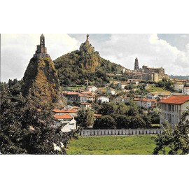 Le Puy En Velay, Haute Loire, Rocher St Michel , Rocher Corneille Et Cath�drale