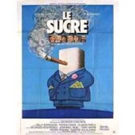 Le Sucre - Jacques Rouffio - G�rard Depardieu - Jean Carmet - Affiche De Cin�ma Pli�e 120x160 Cm