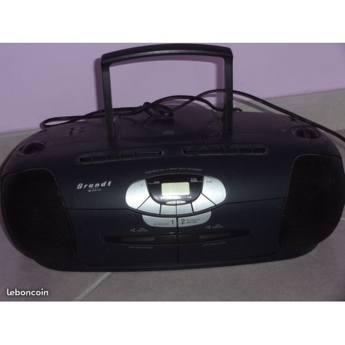 lecteur portable compact disc double lecteur. Black Bedroom Furniture Sets. Home Design Ideas