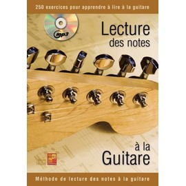 Lecture Des Notes � La Guitare + Cd