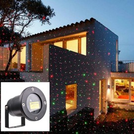 Led lampe magic laser projecteur ext rieur lumim re de for Projecteur exterieur noel