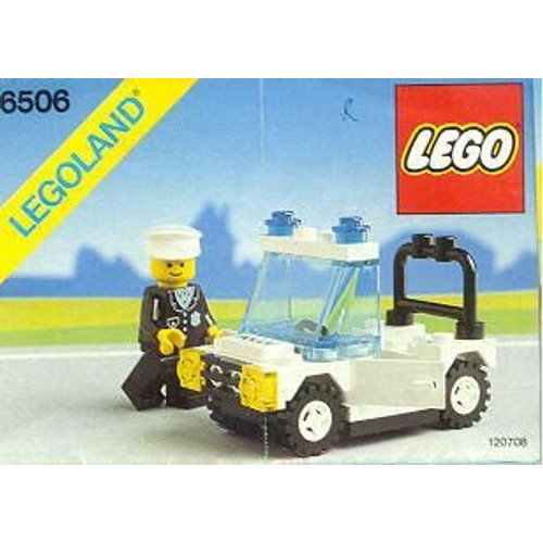 lego 6506 voiture de police achat vente de jouet priceminister rakuten. Black Bedroom Furniture Sets. Home Design Ideas