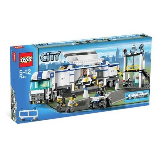 Lego city 7743 le camion de police achat vente de jouet rakuten - Lego camion police ...