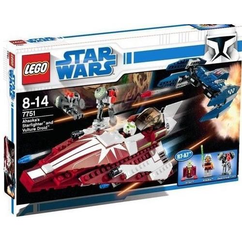 Lego Star Wars Ahsoka 7751 Starfighter Droids fYgvmI67by