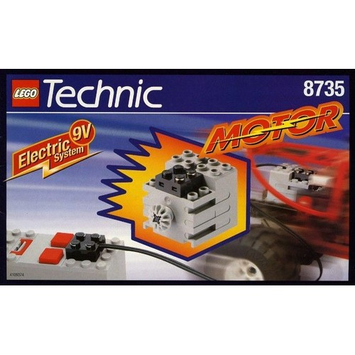 lego 8735 moteur technic 9v achat vente de jouet priceminister rakuten. Black Bedroom Furniture Sets. Home Design Ideas
