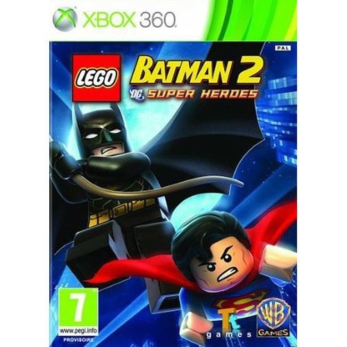 Lego Batman 2 Dc Super Heroes Jeux Video Rakuten