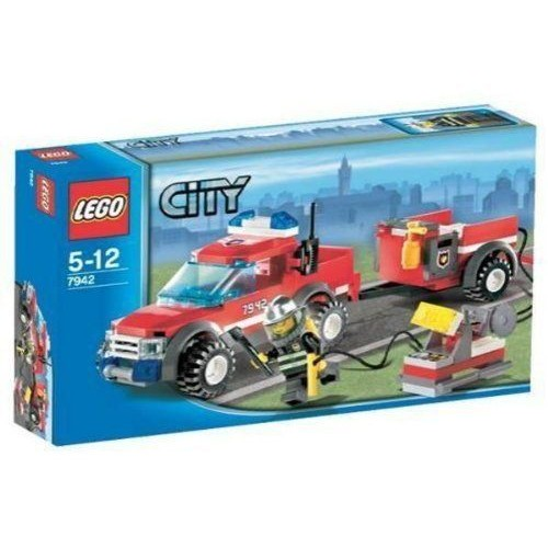 lego city 7942 le camion 4x4 pompiers neuf et d 39 occasion. Black Bedroom Furniture Sets. Home Design Ideas