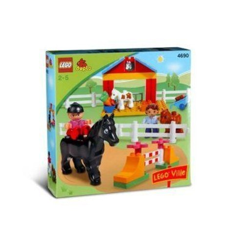 lego duplo 4690 poney club neuf et d 39 occasion sur priceminister. Black Bedroom Furniture Sets. Home Design Ideas