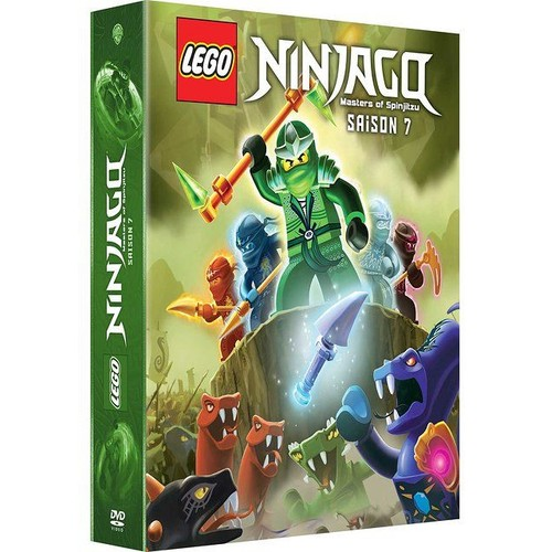 Lego ninjago les ma tres du spinjitzu saison 7 dvd zone 2 - Ninjago saison 2 ...