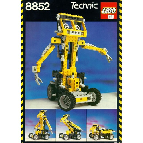 lego technic 8852 achat vente de jouet priceminister rakuten. Black Bedroom Furniture Sets. Home Design Ideas