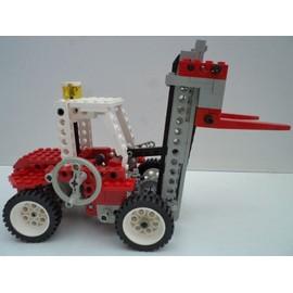 lego technic chariot l vateur clark fenwick tracteur 8835. Black Bedroom Furniture Sets. Home Design Ideas